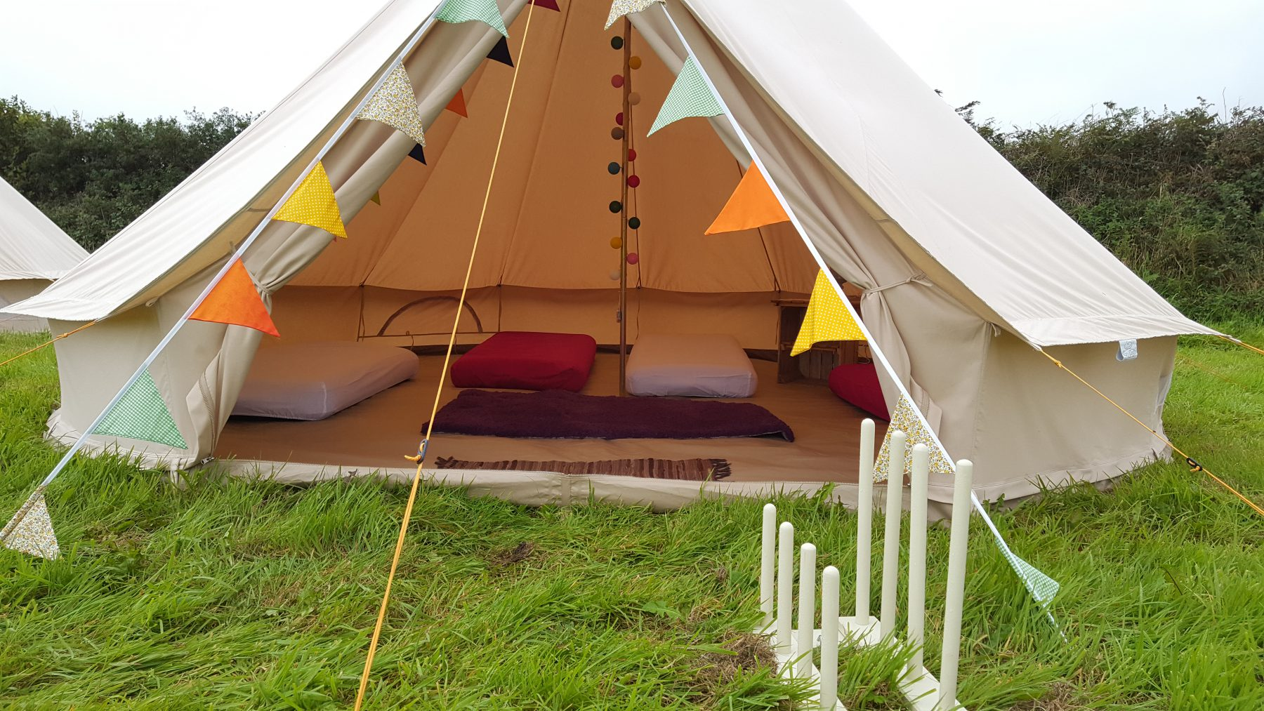 Gl&ing Bell Tents & Glamping Bell Tents - The Great Estate Festival 2019 - Scorrier ...